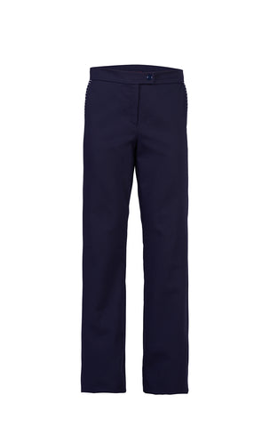 Blue navy pants - by KO - Oberson House Of Design