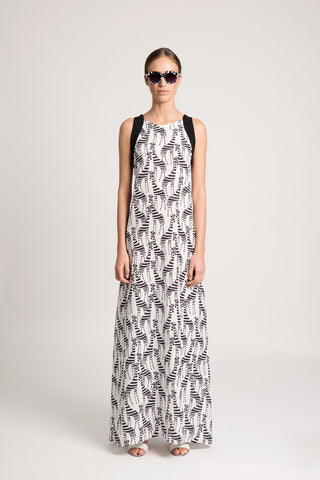 Gizebra printed maxi dress