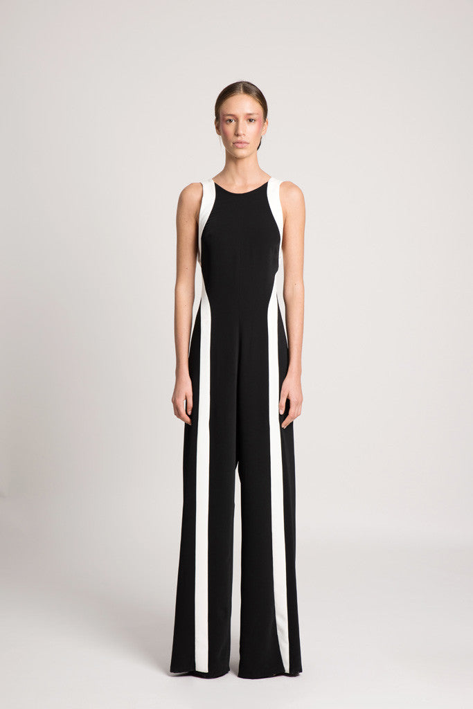 7cd7f77fd9e1 Black and white jumpsuit oberson house of design jpg 683x1024 Black white  jumpsuit