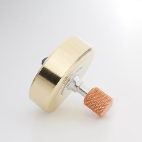 Brass & Copper Mixed Metal Mk1 Spinning Top (restock soon)