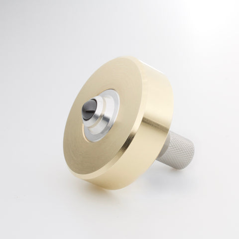 Brass & Stainless Mixed Metal Mk1 Spinning Top (restock soon)