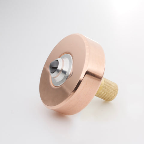Image of Copper & Brass Mixed Metal Mk1 Spinning Top