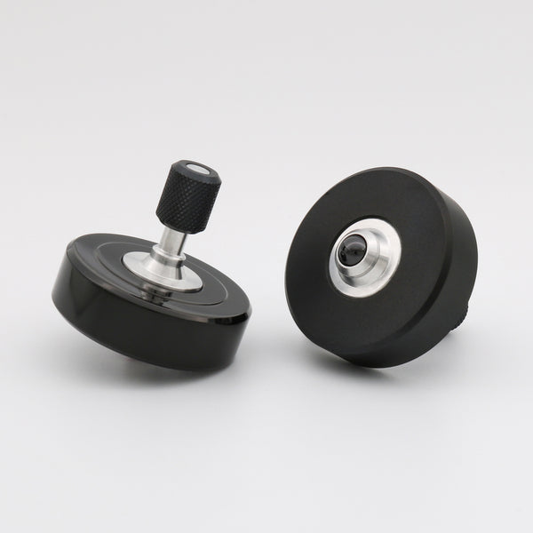 Polished Black Mk1 Spinning Top