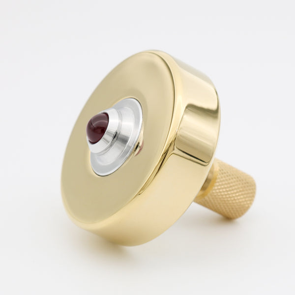Polished Mk1 Spinning Top - Brass