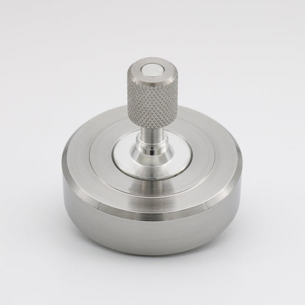 Machine Finished Mk1 Spinning Top - Stainless