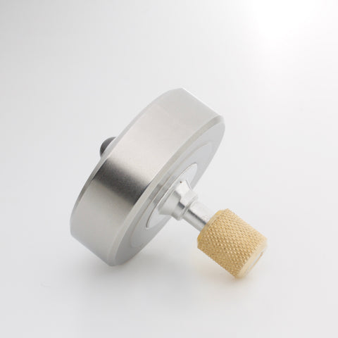 Stainless & Brass Mixed Metal Mk1 Spinning Top (restock soon)