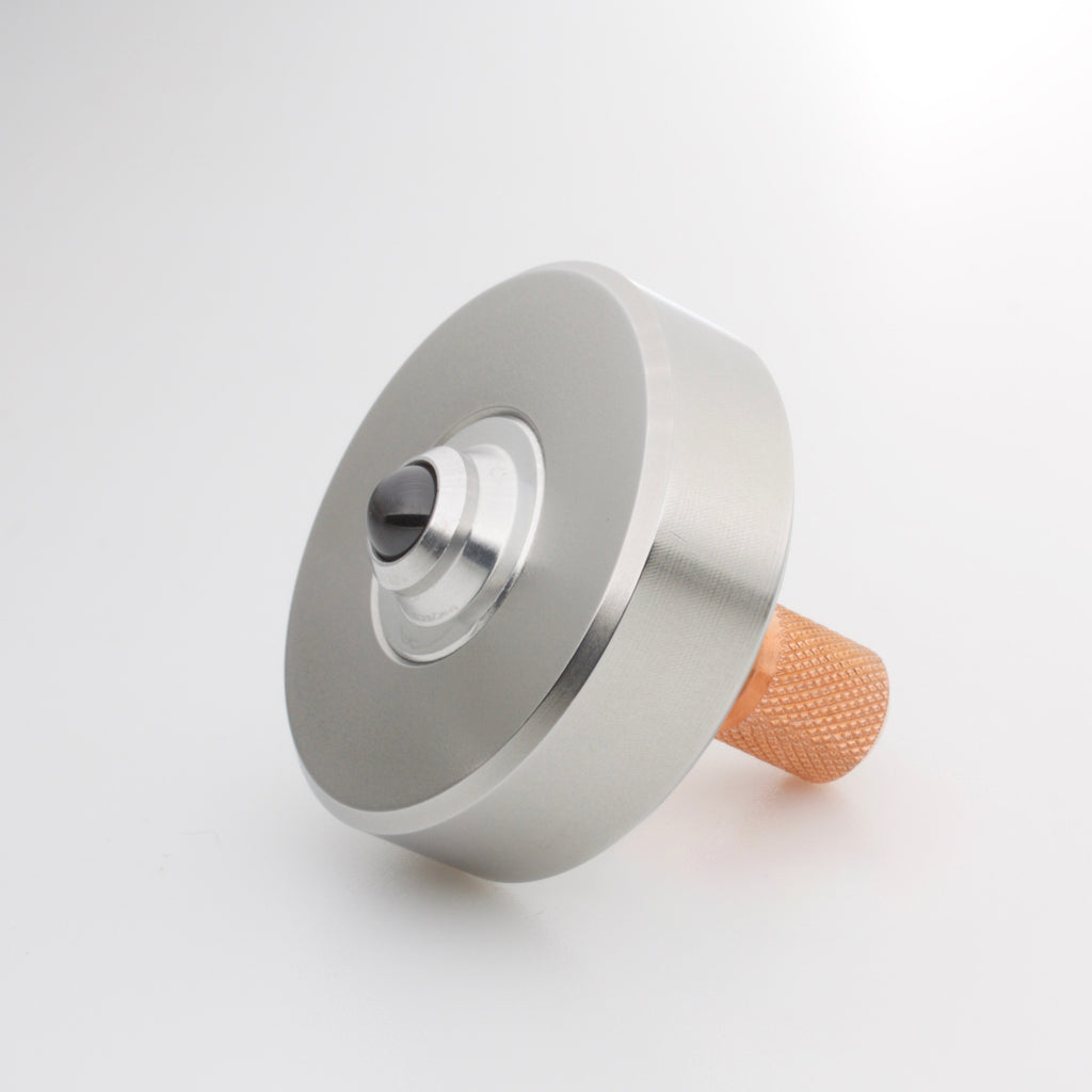 Stainless & Copper Mixed Metal Mk1 Spinning Top