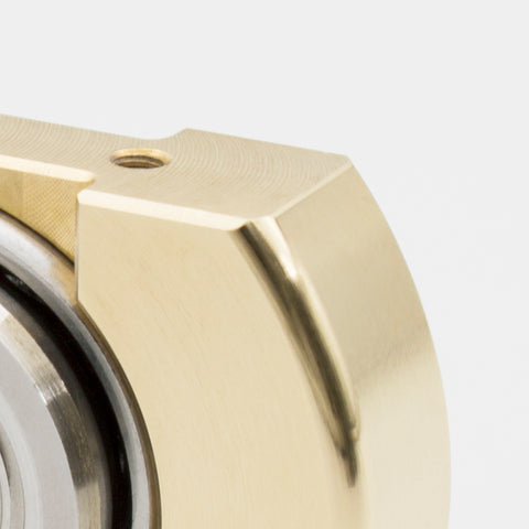 Image of Machine Finished Flat Top V1 - Brass