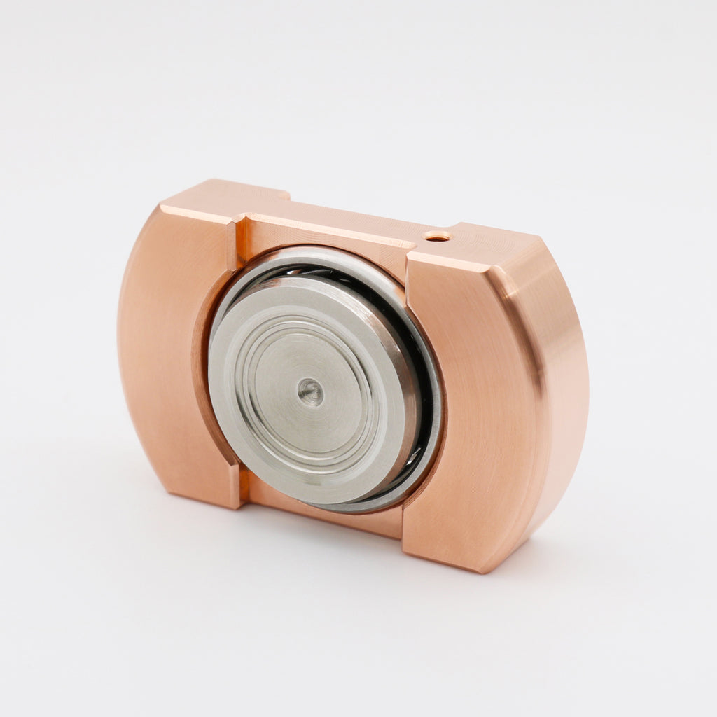 Machine Finished Flat Top V1 - Copper