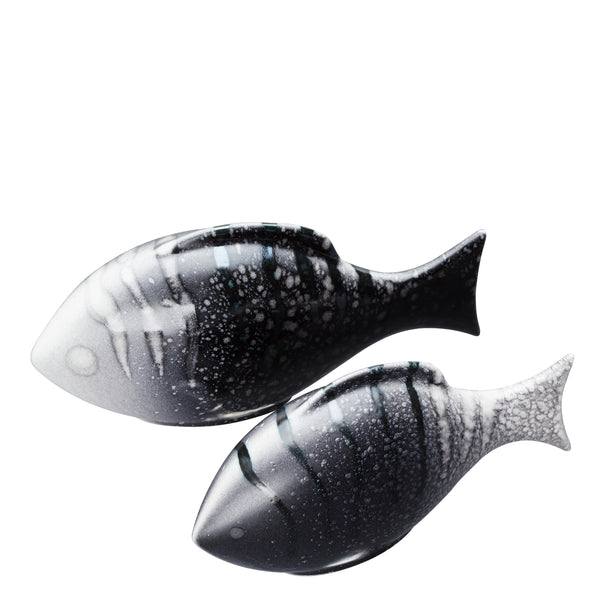 Aura Pair of Poole Fish (Gift Boxed)