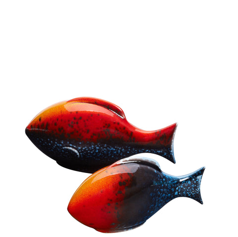 Flare Pair of Poole Fish (Gift Boxed)