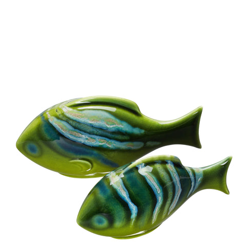 Maya Pair of Poole Fish (Gift Boxed)
