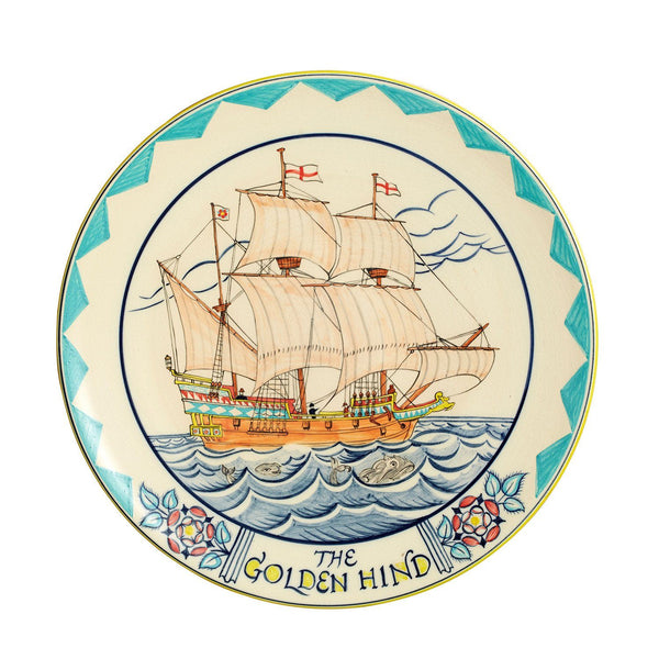 Studio Collection - The Golden Hind Plaque 36cm