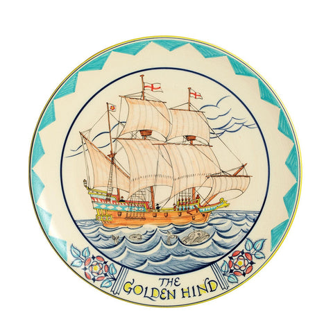The Golden Hind Plaque 36cm