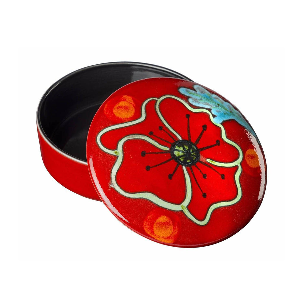 Trinket Box Seconds - Poppyfield Trinket Box 14cm Seconds