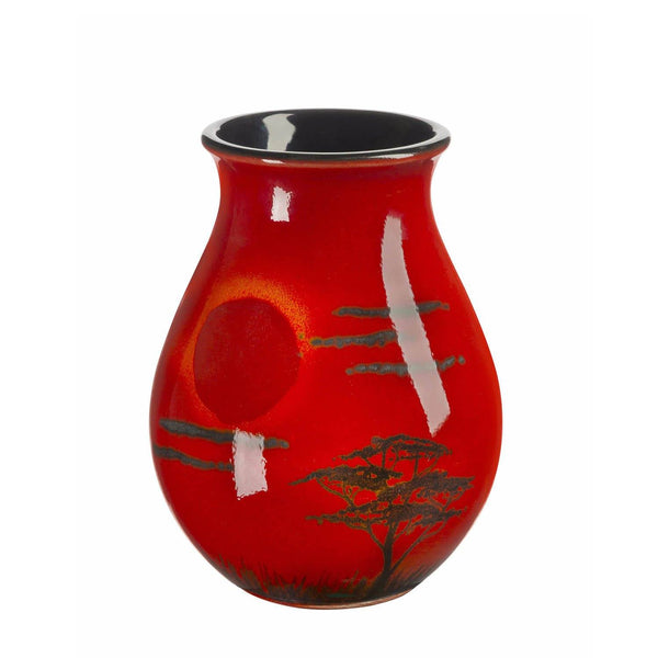 Hand Painted Vases Poole Pottery