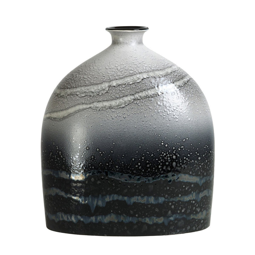 Vase - Aura Large Oval Bottle Vase 28cm