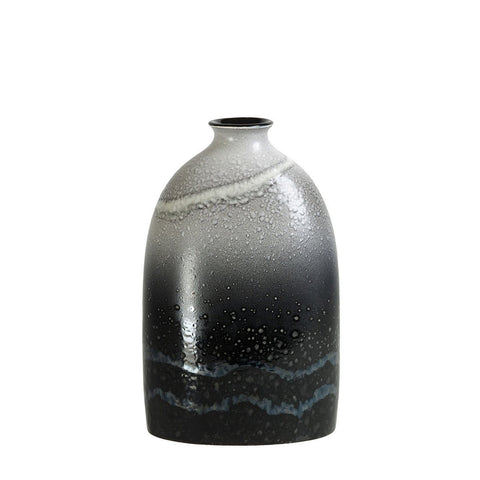 Aura Medium Oval Bottle Vase 23cm