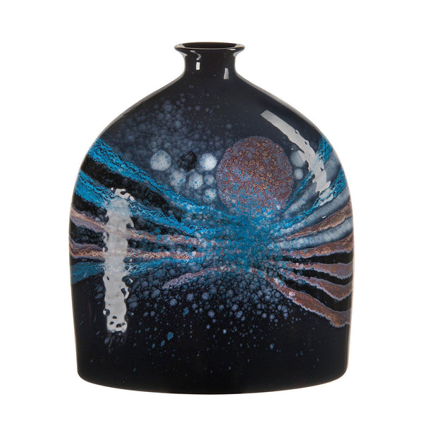 Vase - Celestial Large Oval Bottle Vase 28cm