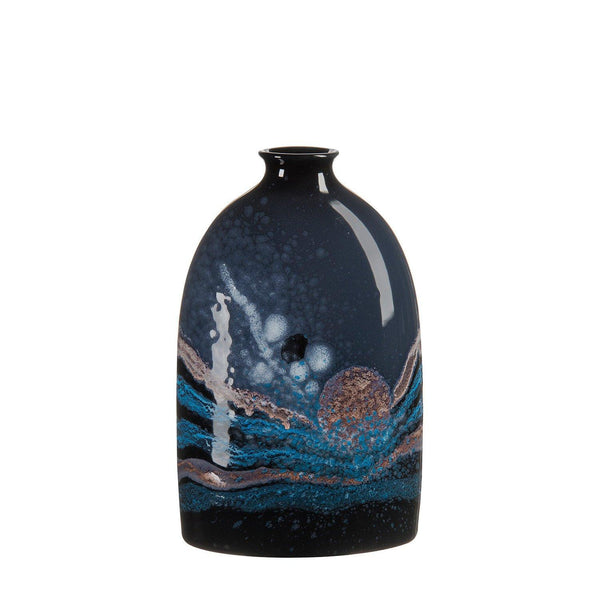 Vase - Celestial Medium Oval Bottle Vase 23cm