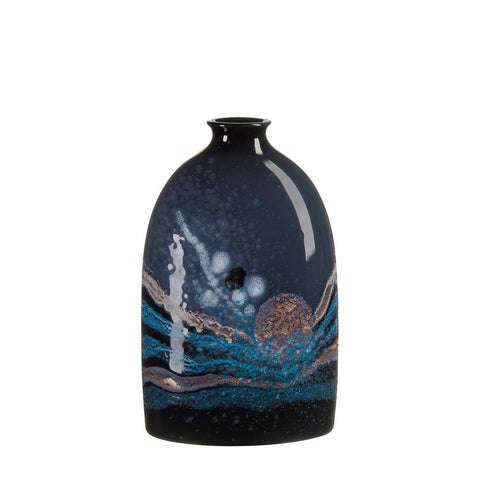 Celestial Medium Oval Bottle Vase 23cm