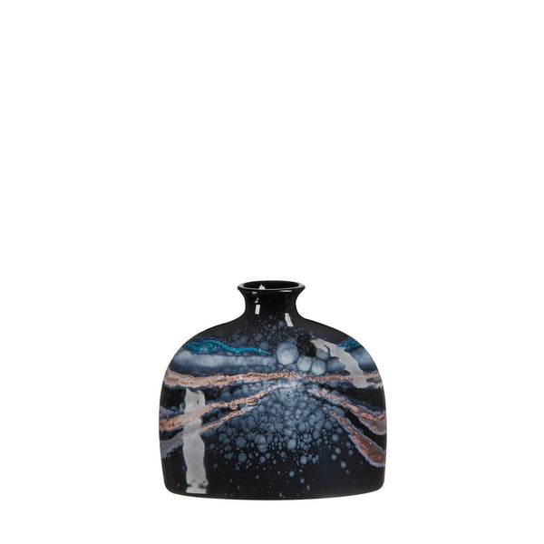 Vase - Celestial Small Oval Bottle Vase 12cm