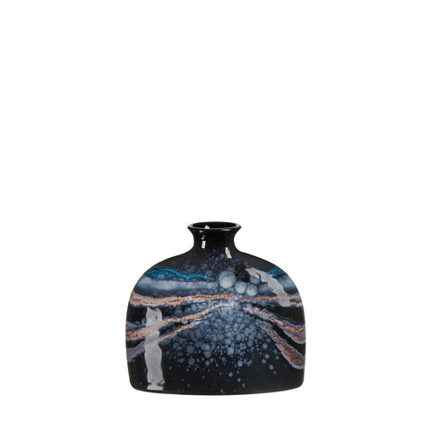Celestial Small Oval Bottle Vase 12cm