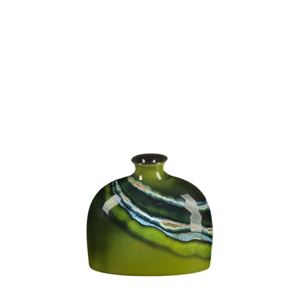 Vase - Maya Oval Bottle Vase 12cm Small
