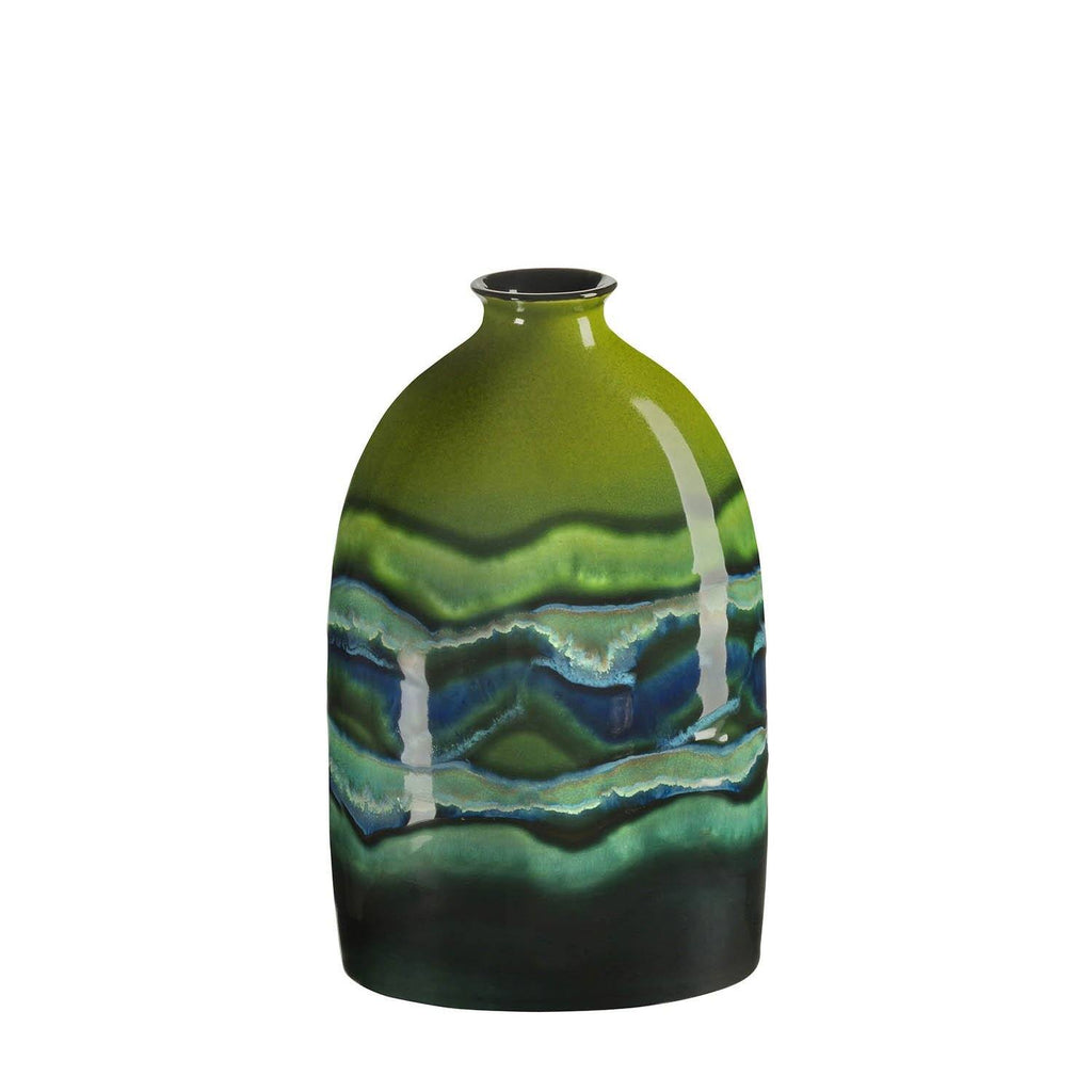 Vase - Maya Oval Bottle Vase 23cm Medium