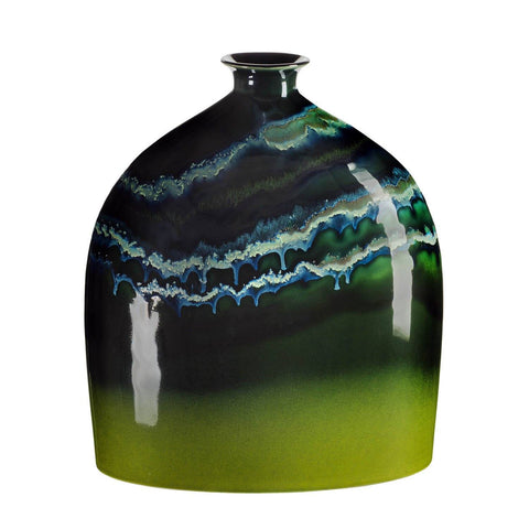 Maya Oval Bottle Vase 28cm Large
