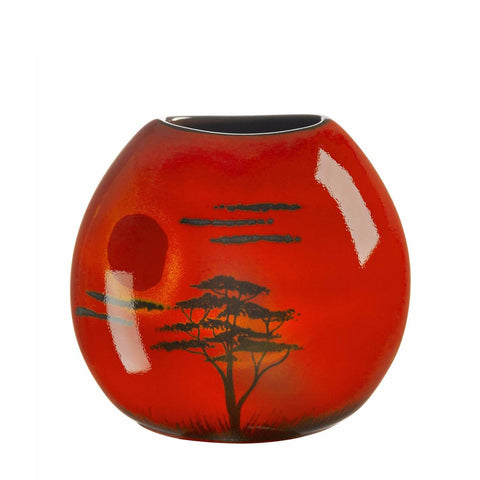African Sky Purse Vase 20cm Seconds