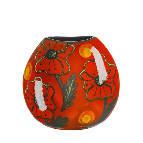 Poppyfield Purse Vase 20cm Seconds