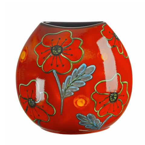 Poppyfield Purse Vase 26cm Seconds