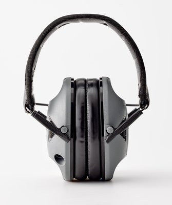Peltor RangeGuard Electronic Earmuffs (NRR 21dB) Black and Gray  RG-OTH - OPTICS PROS