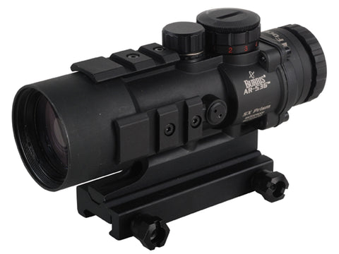 Burris AR-536 Prism Sight 5X Ballistic/CQ Reticle Tactical Red Dot Sight 300210 - OPTICS PROS