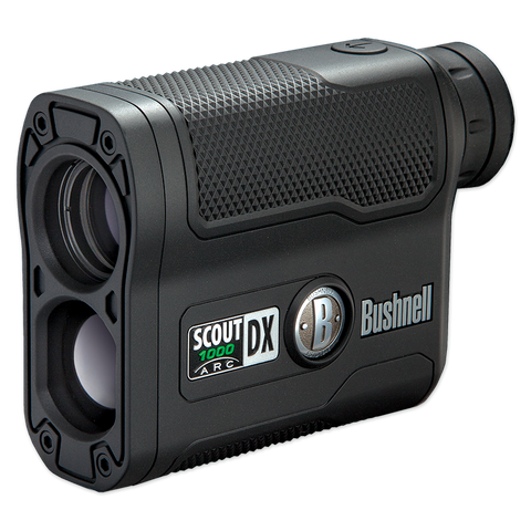 Bushnell Scout DX 1000 ARC 6x21 Laser Rangefinder, Black 202355 - OPTICS PROS