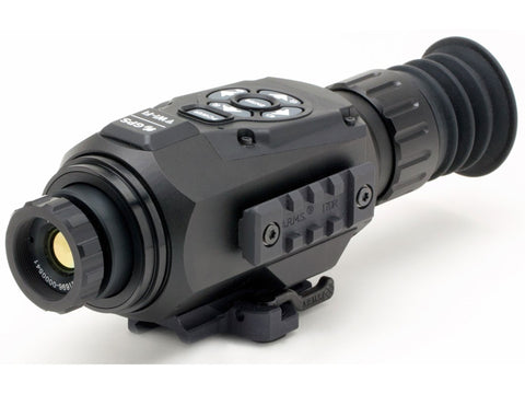ATN ThOR HD Thermal Rifle Scope 1.5-15x 25mm 640x480 with HD Video Recording, Wi-Fi, GPS, Smooth Zoom, Smartphone Control via iOS or Android app Matte - OPTICS PROS