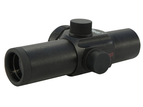 "Millett Compact Red Dot Sight 1"" Tube 1x 3 MOA Dot with Weaver-Style Rings - OPTICS PROS"