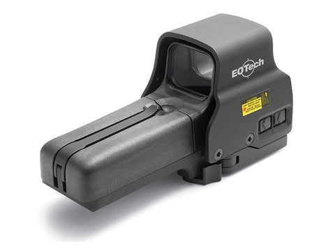 EOTech 518.A65 Holographic Weapon Sight 68 MOA Circle with 1 MOA Dot Reticle Matte AA Battery with Quick Detachable Base - OPTICS PROS