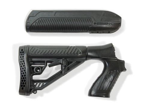 Adaptive Tactical Mossberg 500, 590 EX Performance Forend and Adjustable Stock 12 GA
