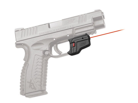 Crimson Trace Defender Series Accu-Guard Laser Springfield XD, XDM Polymer Black - OPTICS PROS