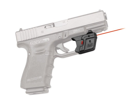 Crimson Trace Defender Series Accu-Guard Laser Glock Full Size and Compact Polymer Black - OPTICS PROS