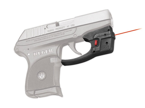 Crimson Trace Defender Series Accu-Guard Laser Ruger LCP Polymer Black - OPTICS PROS
