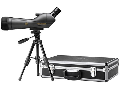 Leupold 20-60x80 SX1 Ventana Angled Spotting Scope With Tripod and Hard Carrying Case - OPTICS PROS