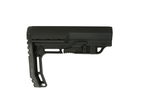 Mission First Tactical Battlelink Minimalist Stock Collapsible (Mil-Spec) AR-15, LR-308 Polymer - OPTICS PROS