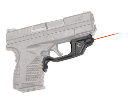 Crimson Trace Springfield XDs LaserGuard Laser Sight, Front Activation LG-469 - OPTICS PROS