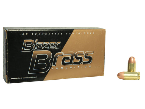 Blazer Brass Ammunition 45 ACP 230 Grain Full Metal Jacket - OPTICS PROS