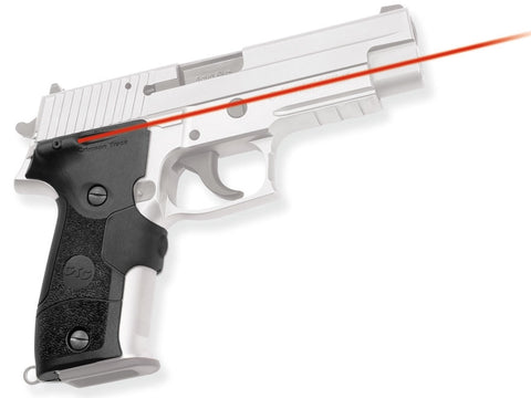 Crimson Trace Lasergrips Sig Sauer P226 Rubber Overmold, Front Activation LG-426 - OPTICS PROS
