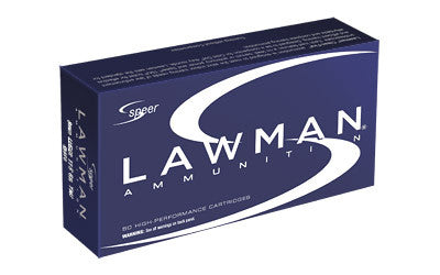 Speer Lawman 9mm Luger Ammo 115 Grain Total Metal Jacket, Box of 50 - OPTICS PROS