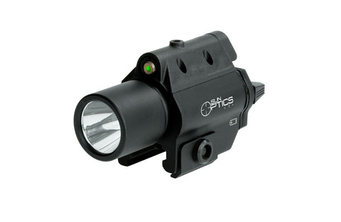 Sun Optics Compact Weapon Laser and Light - 250 Lumen - OPTICS PROS